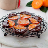 Candied Chocolate Clementines