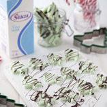 Christmas Tree Peppermint Creams