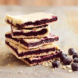 Crispy Blueberry Bars