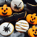 Spooky Themed Halloween Cookies