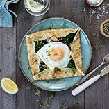 Ham and Brie Breakfast Galette