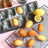 Honey, Lemon & Poppy Seed Madeleines