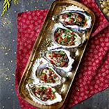 Oysters with Caramelised Pancetta