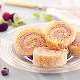 Swiss Roll with Meringue Butter Cream