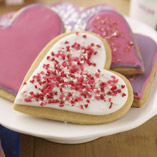 Love Heart Iced Cookies