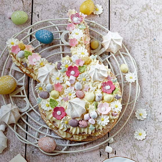 Bunny Ears Cream Tart