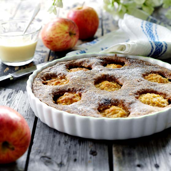 Apple Cake With Coconut