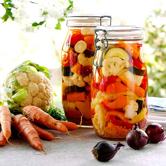 Pickled Summer Vegetables