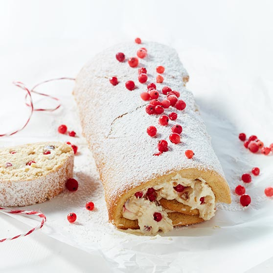Swiss Roll with Fig and Mascarpone Cream