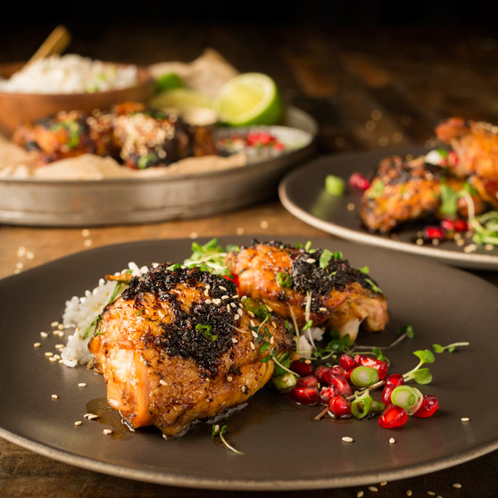Thai Sticky Chicken