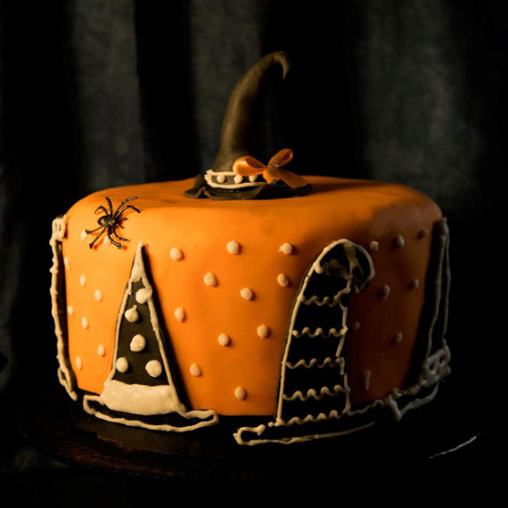 Witches Hat Cake